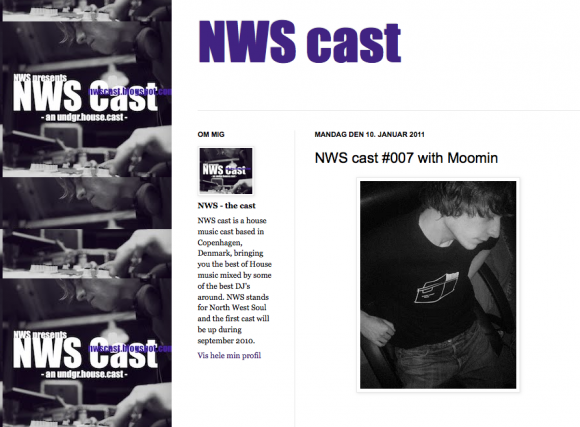 NWS Cast with Moomin